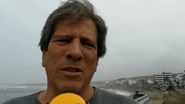 Fernando Bazán, exalcalde de Huanchaco.