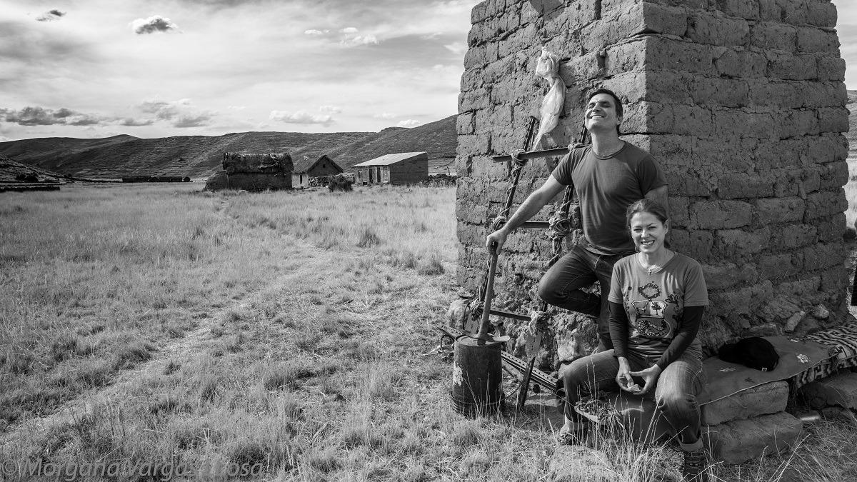 Desde hace 8 años, Joaquín de la Piedra y Laura Fantozzi dirigen Kusimayo.