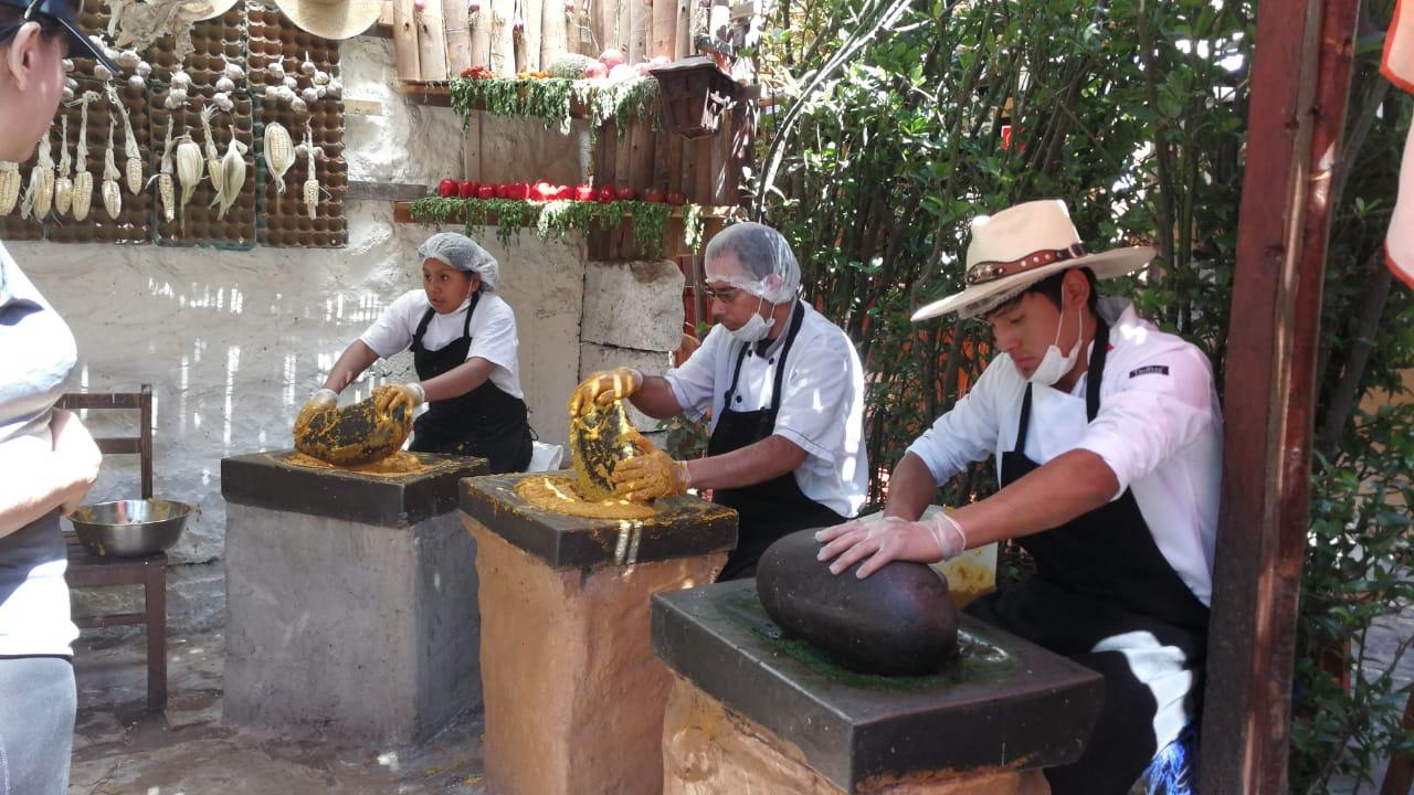 Estos los platillos que pidió Mario Vargas Llosa en Arequipa.