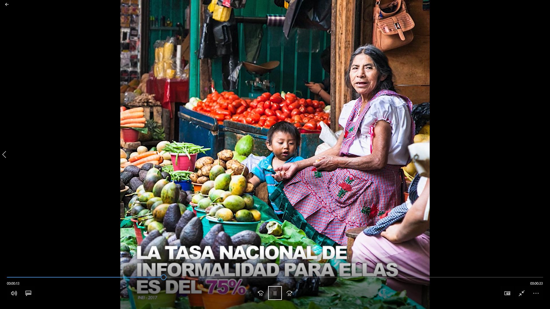 El 30% de las mujeres peruanas entre los 14 y 29 años no tienen ingresos propios y dependen económicamente de un hombre (INEI – 2017)