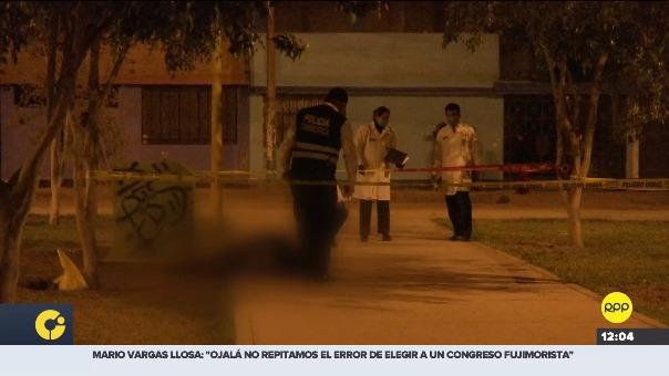 Hombre murió de un balazo en Carabayllo