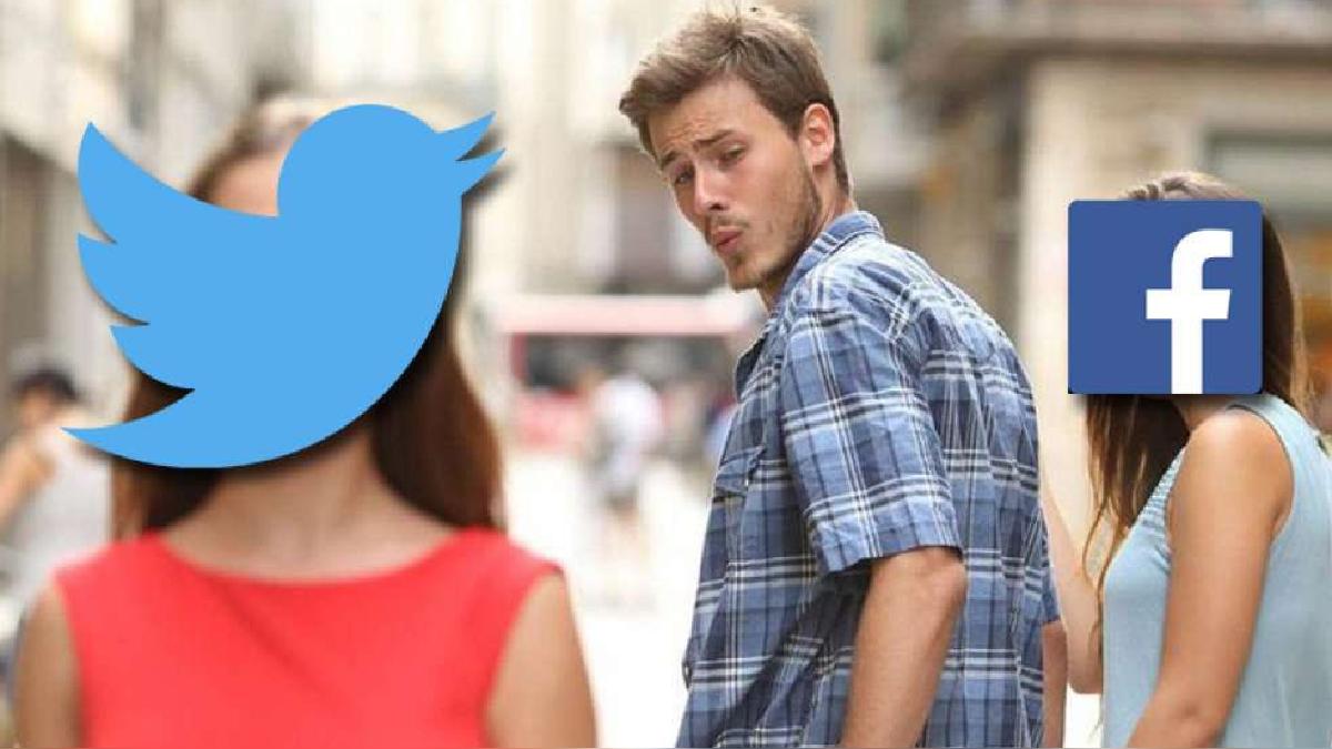 En la ausencia de Facebook, el mundo posa su atención sobre la pequeña ave azul de Twitter.