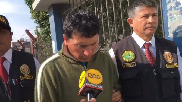 El acusado de intento de parricidiomantuvo silencio durante las diligencias policiales.