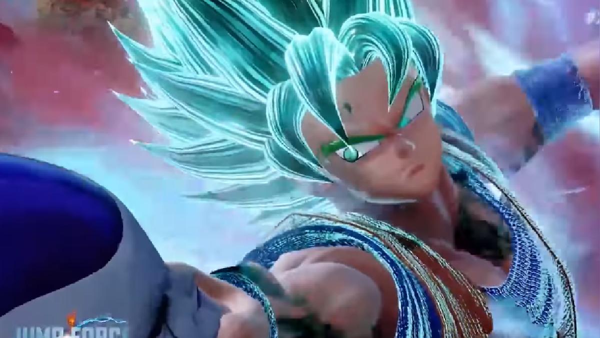 Gokú, Vegeta y Freezer muestran poderosas y nuevas transformaciones en Jump Force.