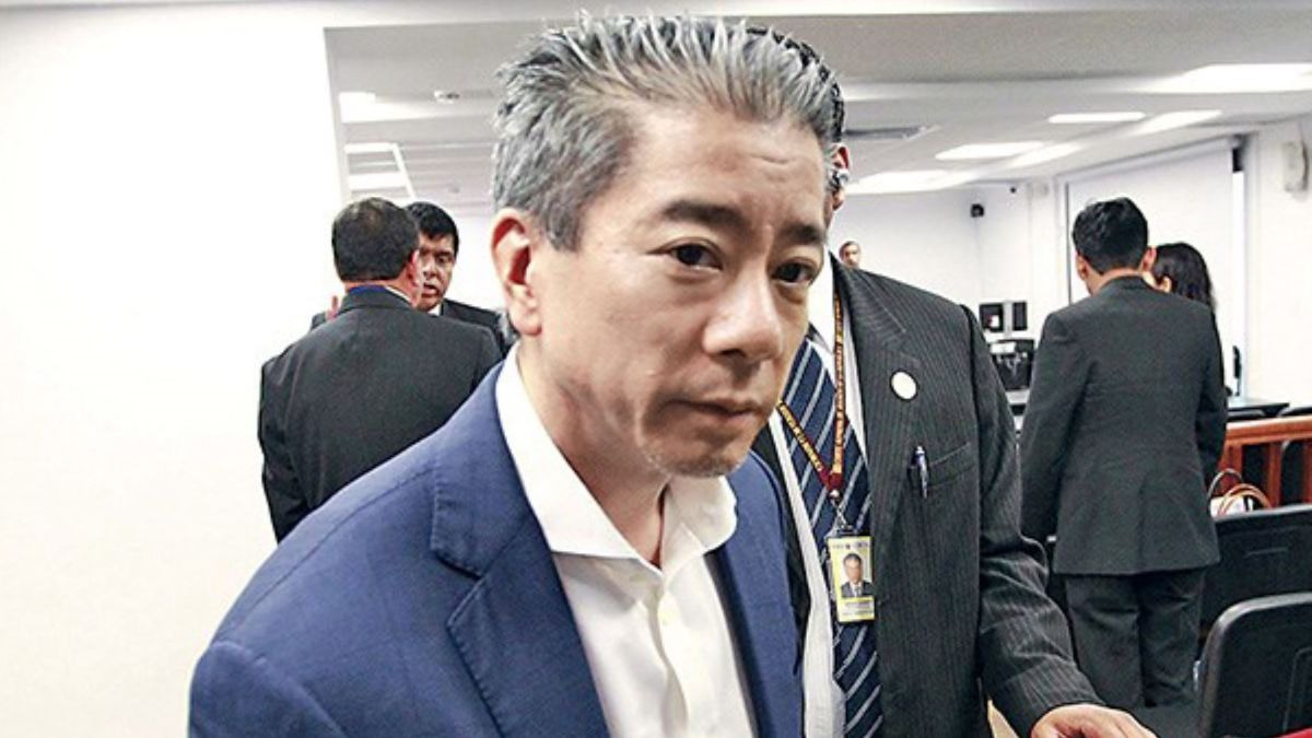 Fiscal leyó la confesión de Yoshiyama.