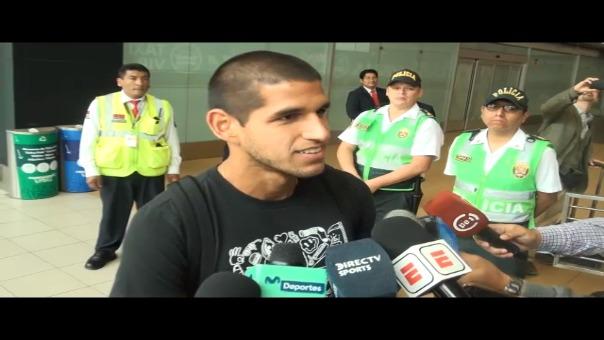 Luis Abram, defensa de la Selección Peruana.