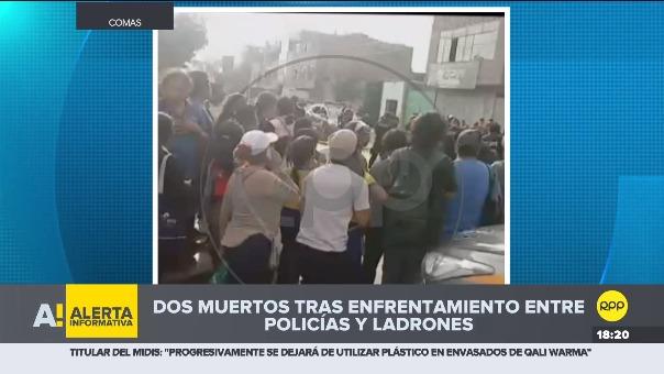 Según general Gastón Rodríguez, los sujetos dispararon contra la policía luego que procedieran a la intervención e identificación del vehículo robado.