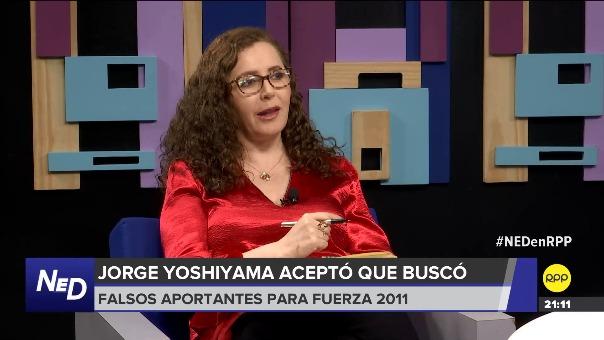 Rosa Bartra en Nada Está Dicho por RPP Noticias.