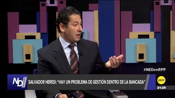 Salvador Heresi estuvo en el programa 'Nada está Dicho' de RPP