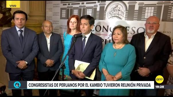 Tras las renuncias de Patricia Donayre, Guido Lombardi y Salvador Heresi la bancada se queda con seis congresistas.