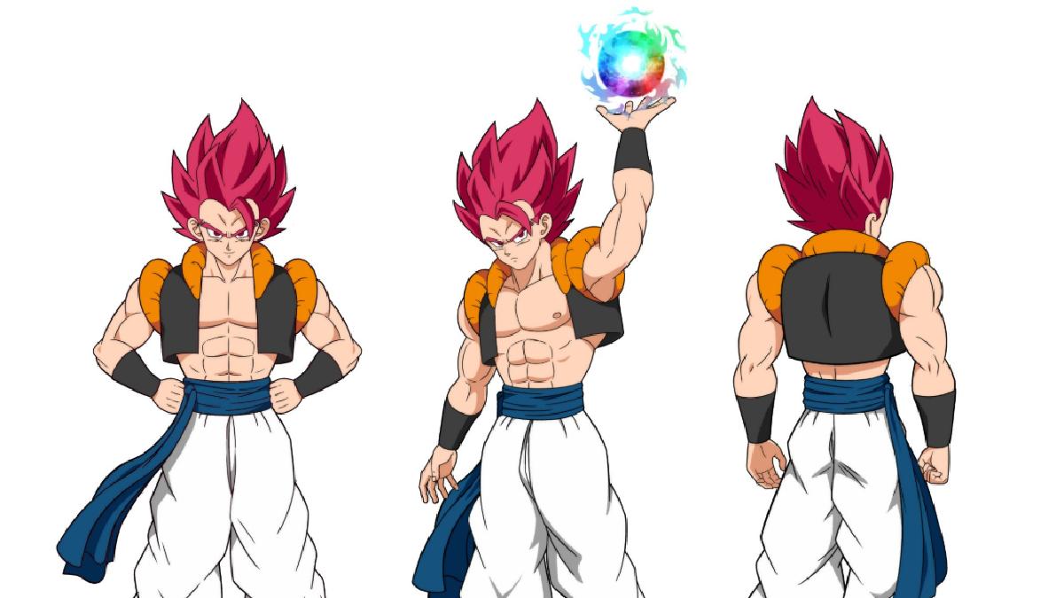 Dragon Ball Super Broly Asi Seria Gogeta Como Super Saiyajin Dios