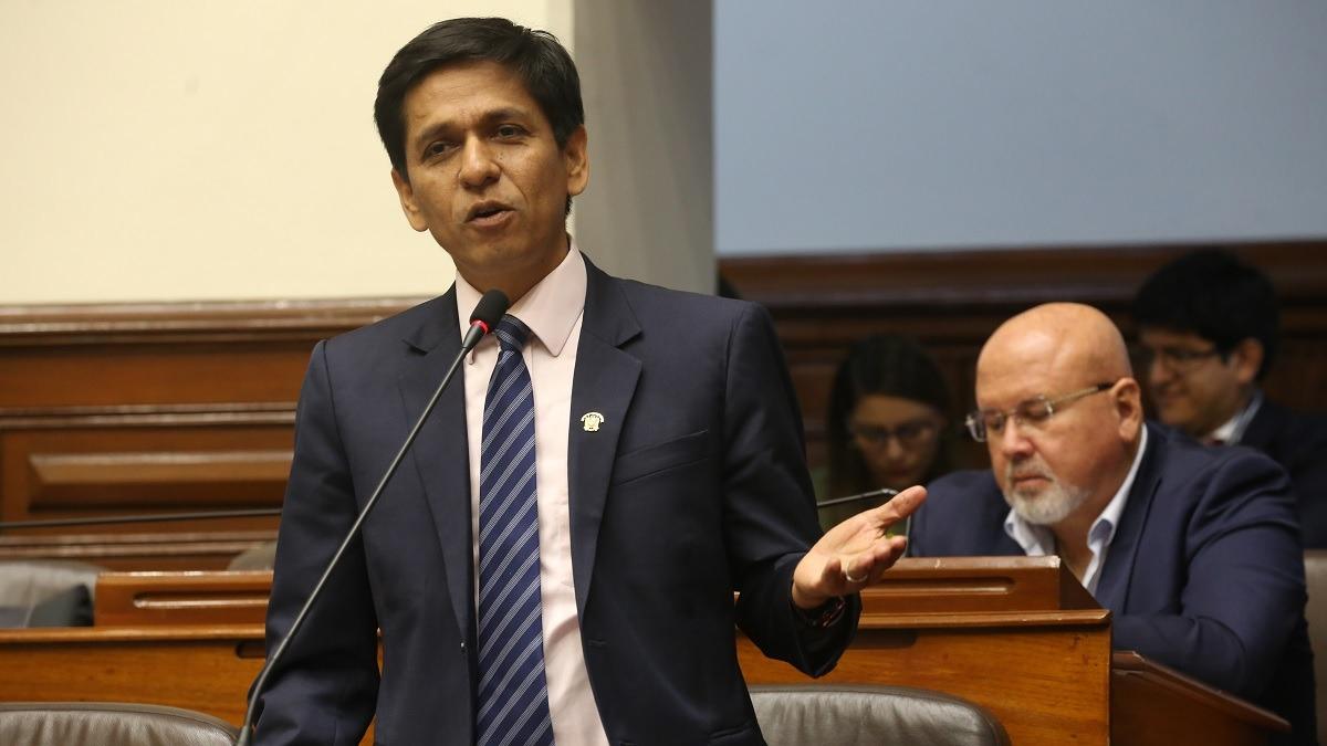 Jorge Meléndez, nuevo vocero de la bancada oficialista.