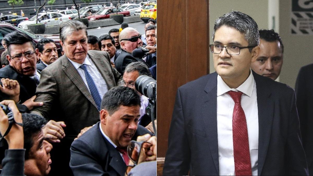 Alan García seguirá siendo investigado por el fiscal José Domingo Pérez
