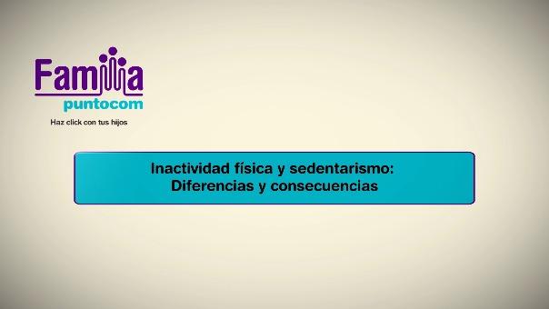 Inactividad física y sedentarismo: diferencias y consecuencias