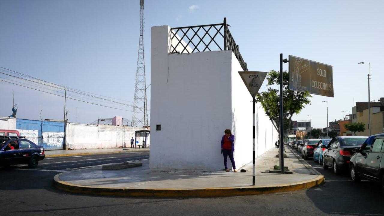 Así luce la histórica muralla de Trujillo.