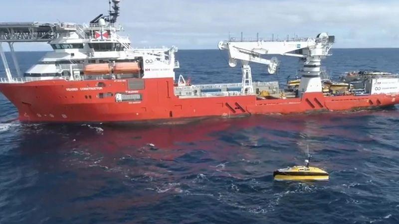 Ocean Infinity fue licitada por el Gobierno argentino para buscar el submarino.