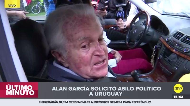 Valle Riestra recordó que también estuvo asilado. Fue en Madrid en la década de 1970.