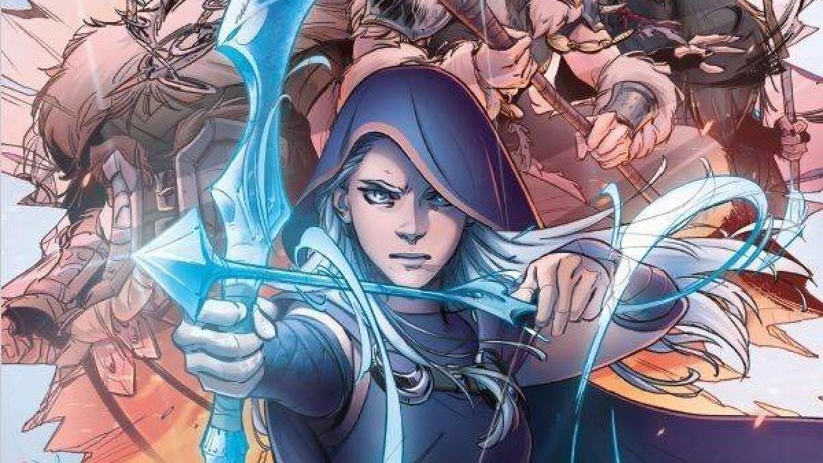 La historia de origen de Ashe será reinventada en una serie de cómics mensuales.
