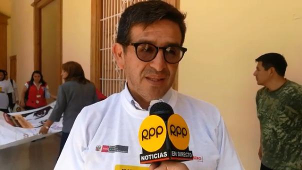 El prefecto de La Libertad, Fernando Armas, condenó los actos cometidos por el congresista Mamani, contra una aeromoza.