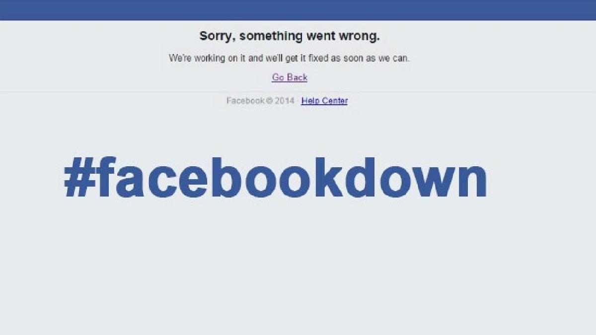 Facebook está presentando muchos problemas recientemente.