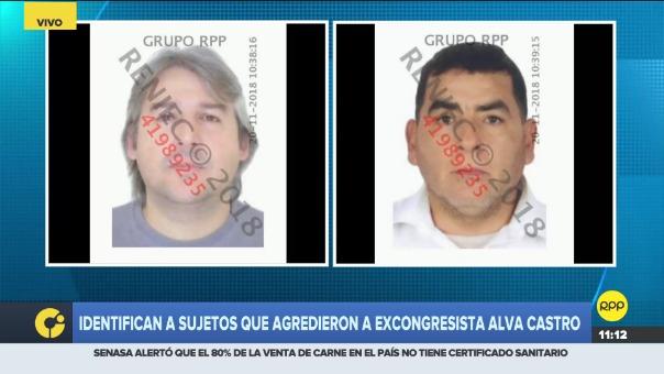 Los agresores de Luis Alva Castro fueron identificados.