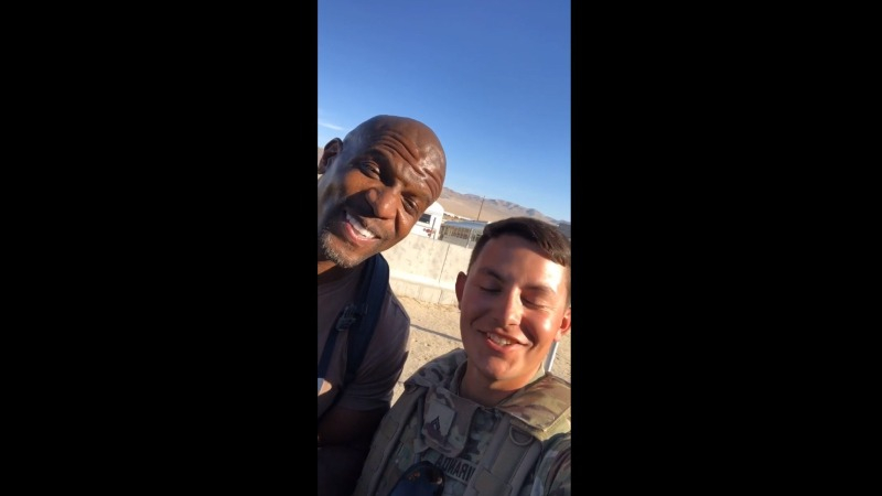 El divertido video viral protagonizado por Terry Crews.