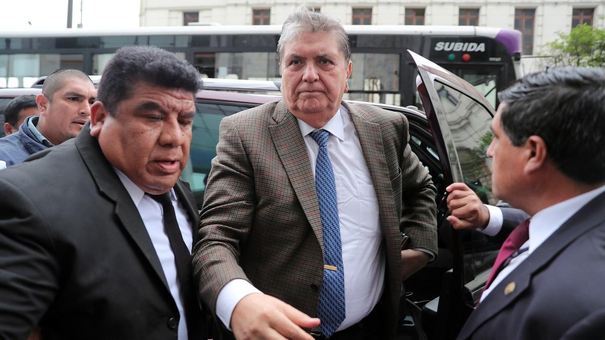 El expresidente Alan García pidió asilo político a Uruguay.
