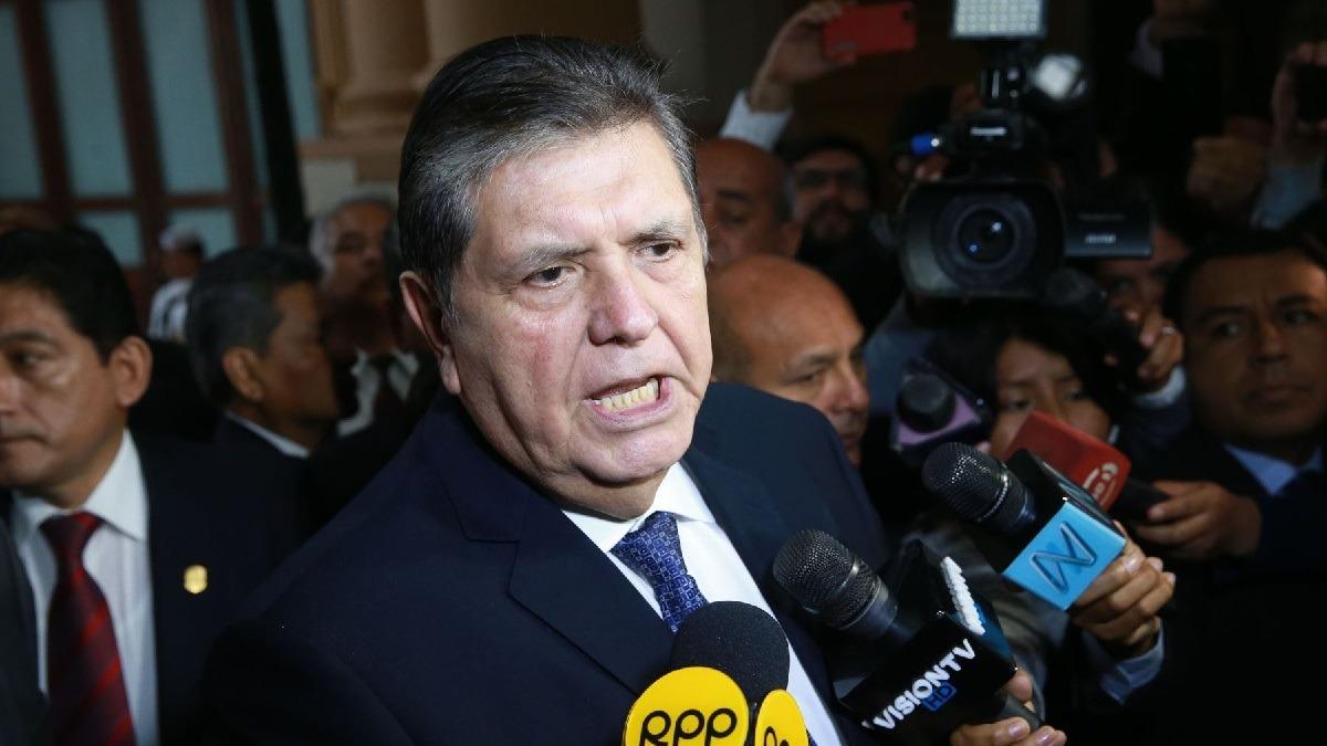 Alan García pidió asilo político a Uruguay.
