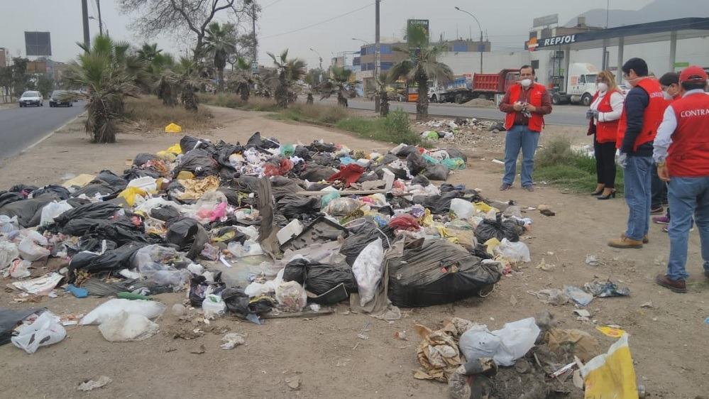 Contraloria inició el operativo limpieza y residuos sólidos.