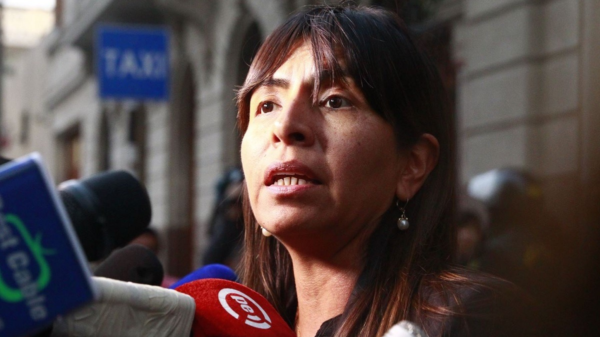 Giuliana Loza, abogada de Keiko Fujimori.