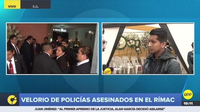 RPP Noticias llegó hasta el velorio del suboficial José Luis Pacheco Paredes.