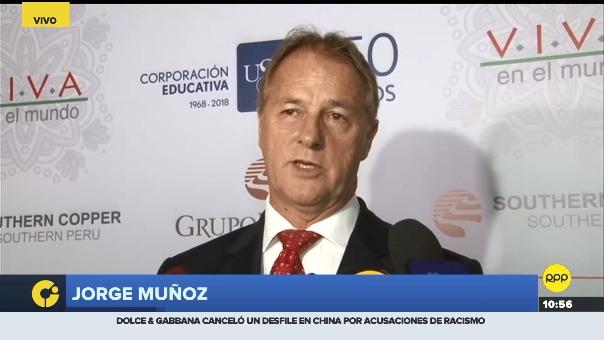 Muñoz participó en el foro empresarial 2018.