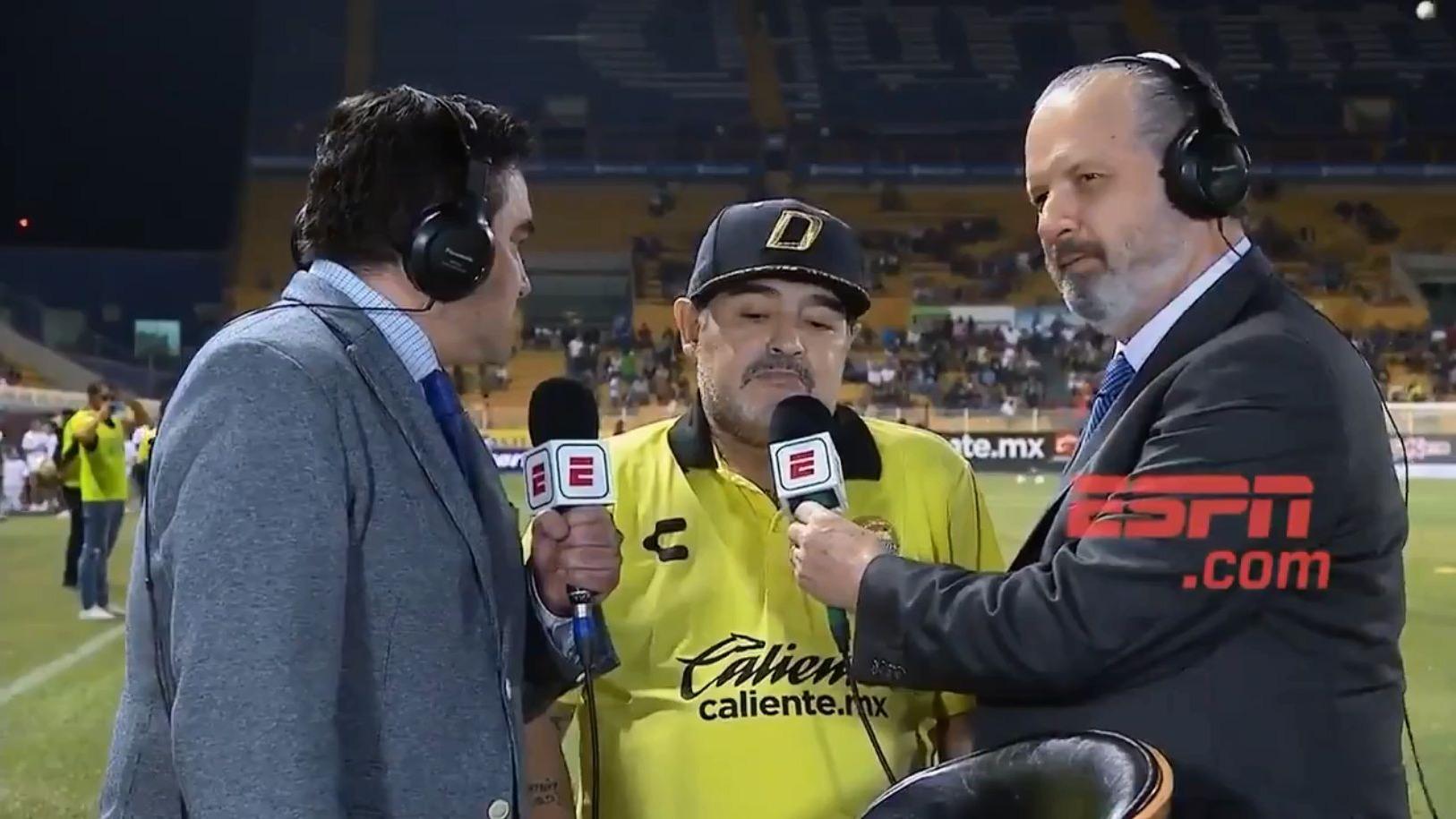 Maradona estuvo antes en Al Fujairah SC, de Emiratos Árabes.