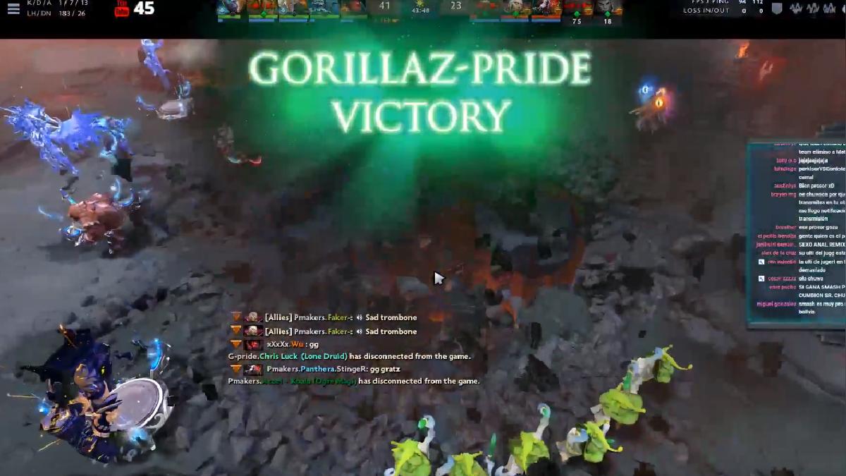 Gorillaz Pride nos representará en China tras decisiva victoria sobre Playmakers.