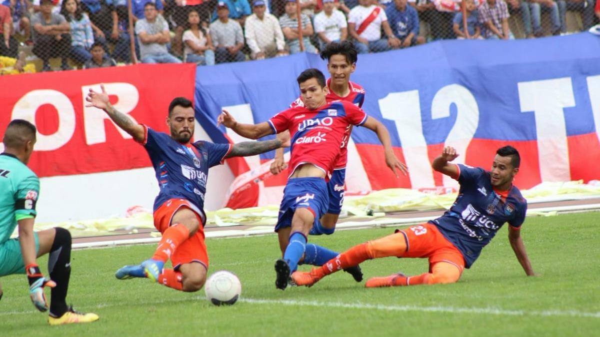 Mannucci y Vallejo igualaron 1-1 en el Mansiche
