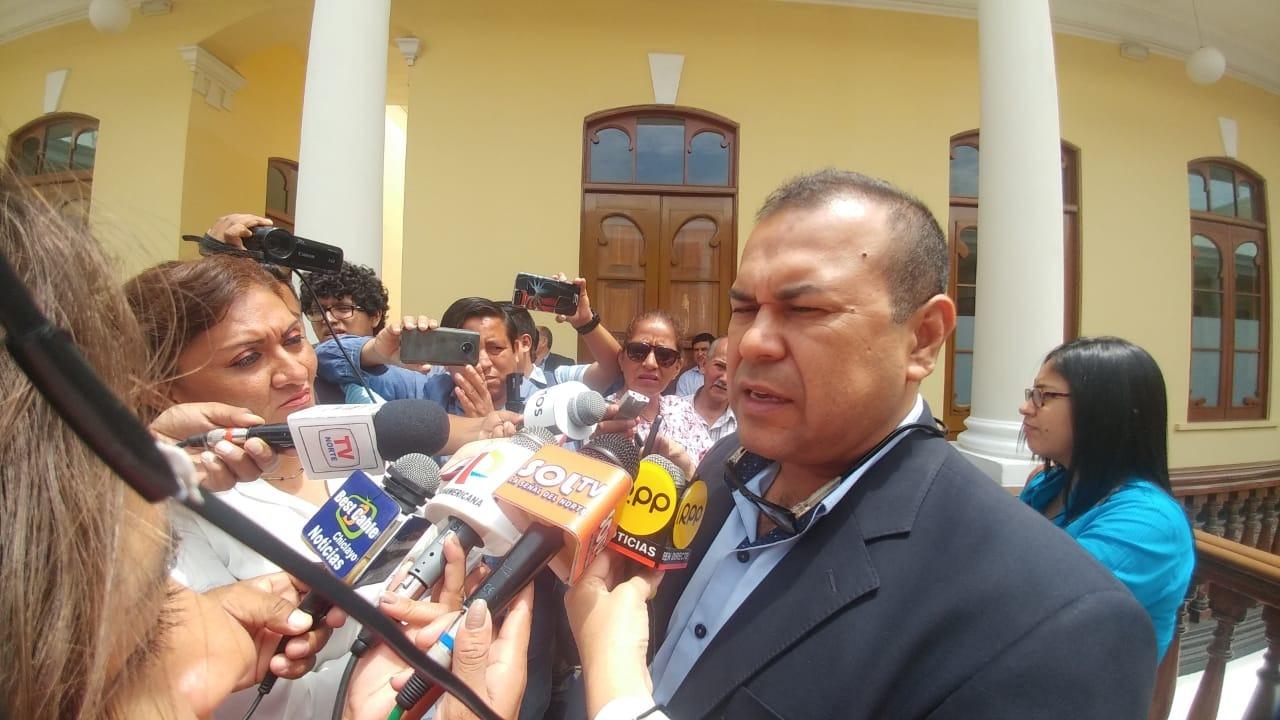 Electo alcalde de Chiclayo, Marco Gasco.
