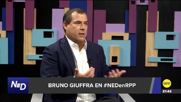 Entrevista con el exministro Bruno Giuffra en Nada Está Dicho por RPP.