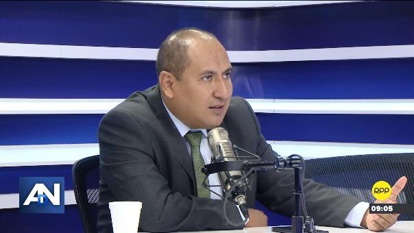 Richard Arce, vocero del Nuevo Perú.