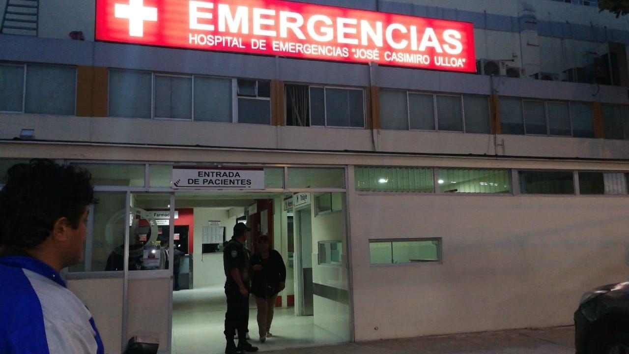 La víctima se debate entre la vida y la muerte en el Hospital Casimiro Ulloa.