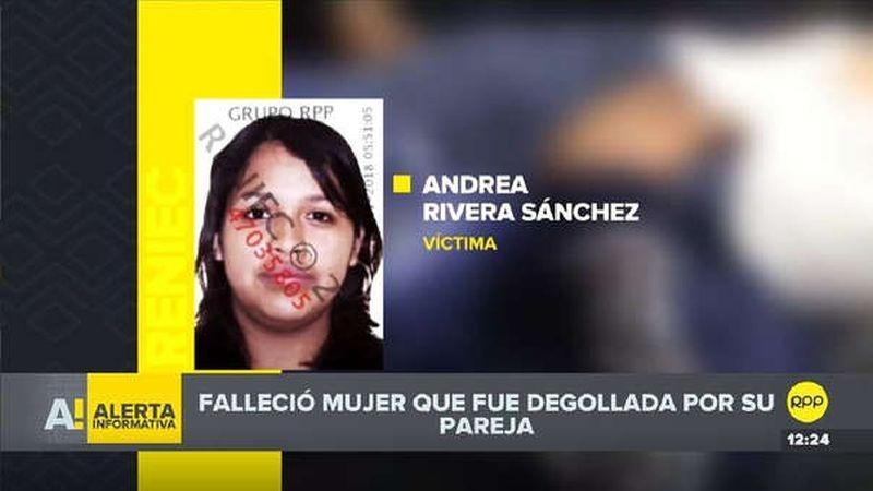 El Ministerio de la Mujer y Poblaciones Vulnerables condenó el feminicidio y pidió una sanción ejemplar para el atacante.