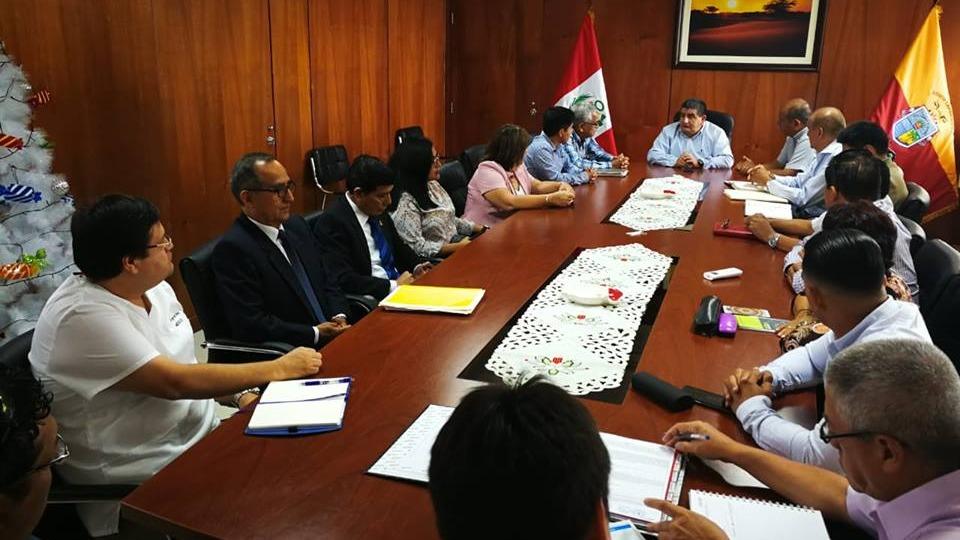 Primera reunión entre autoridades regionales