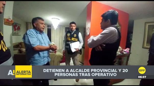 Detención del alcalde de Chiclayo.