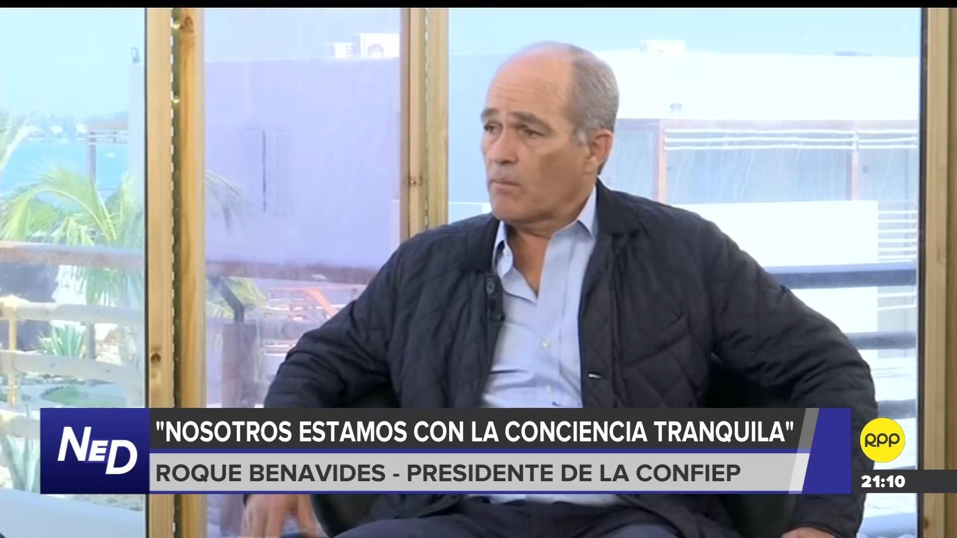 El presidente de Confiep dijo que existe una campaña para destruir al sector privado.