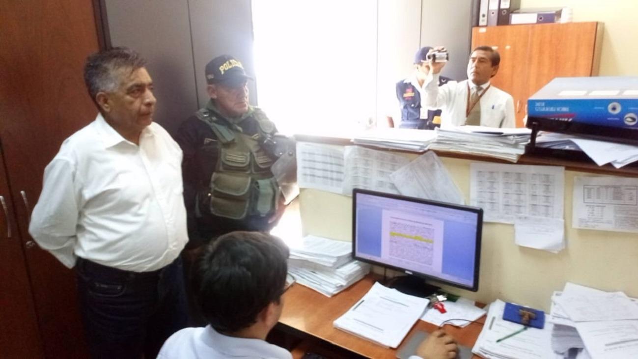 Detenido alcalde de Chiclayo, David Cornejo.