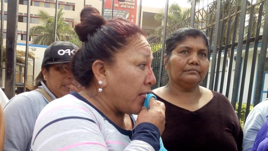 Mujer agredida durante protesta