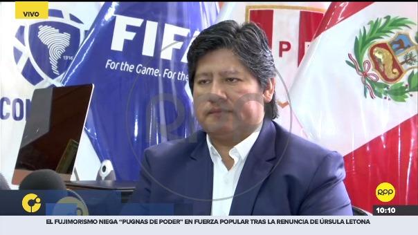 Edwin Oviedo, presidente de la FPF, enfrenta un pedido de prisión preventiva.