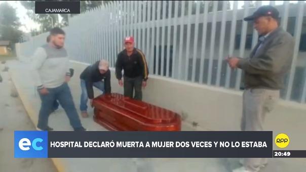 Familiares criticaron a las autoridades del hospital.