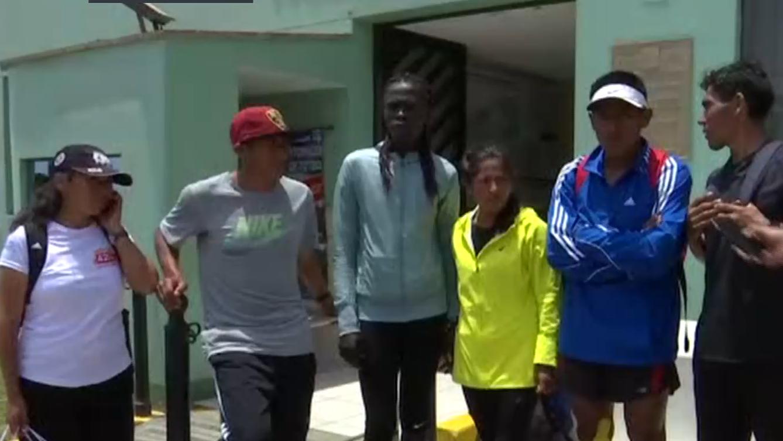 Entre los afectados hay deportistas de Huancayo, Ayacucho y Kenia.