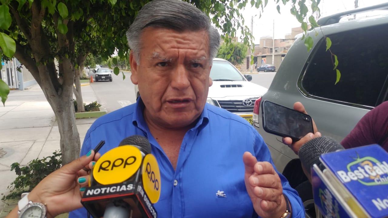 César Acuña, líder del partido Alianza Para el Progreso (APP).