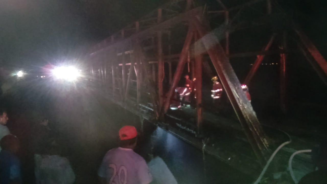Incendio puente Hércules